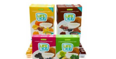냉동해서 먹을 수 있는 한 입 크기의 간식용 얼음사탕, '라이프아이스(Lifeice)'