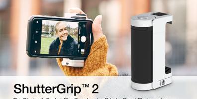 스마트폰용 카메라 그립, 'ShutterGrip 2'